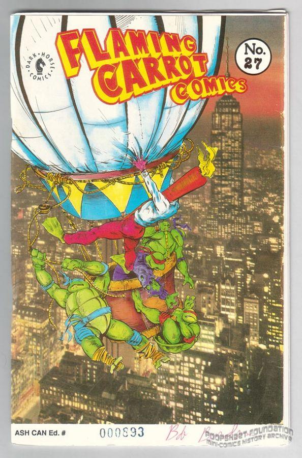 Flaming Carrot Comics #27 ashcan
