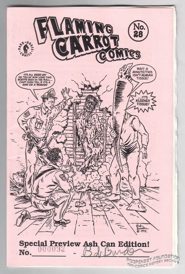 Flaming Carrot Comics #28 ashcan