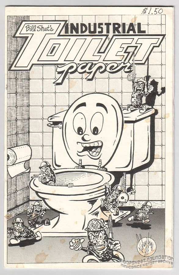 Industrial Toilet Paper #2
