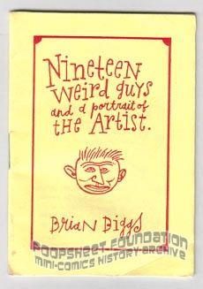 Nineteen Weird Guys and a Portrait of the Artist