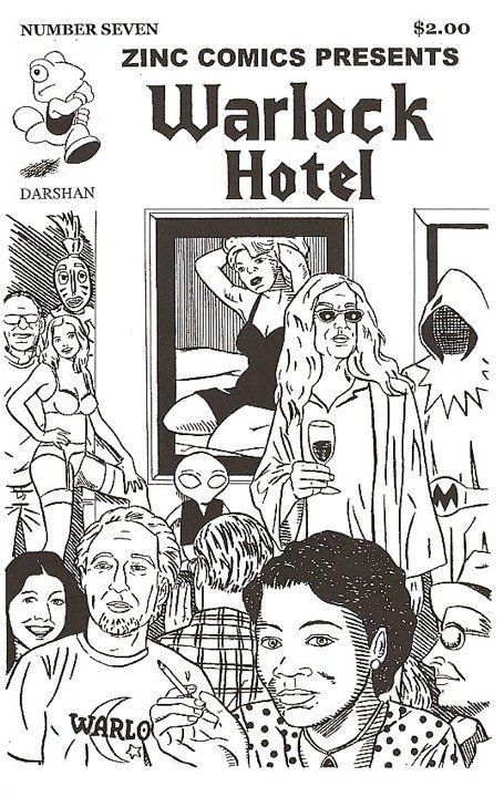 Zinc Comics #7: Warlock Hotel
