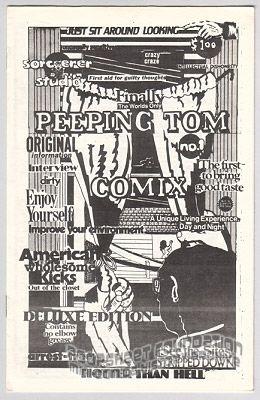 Peeping Tom Comix #1