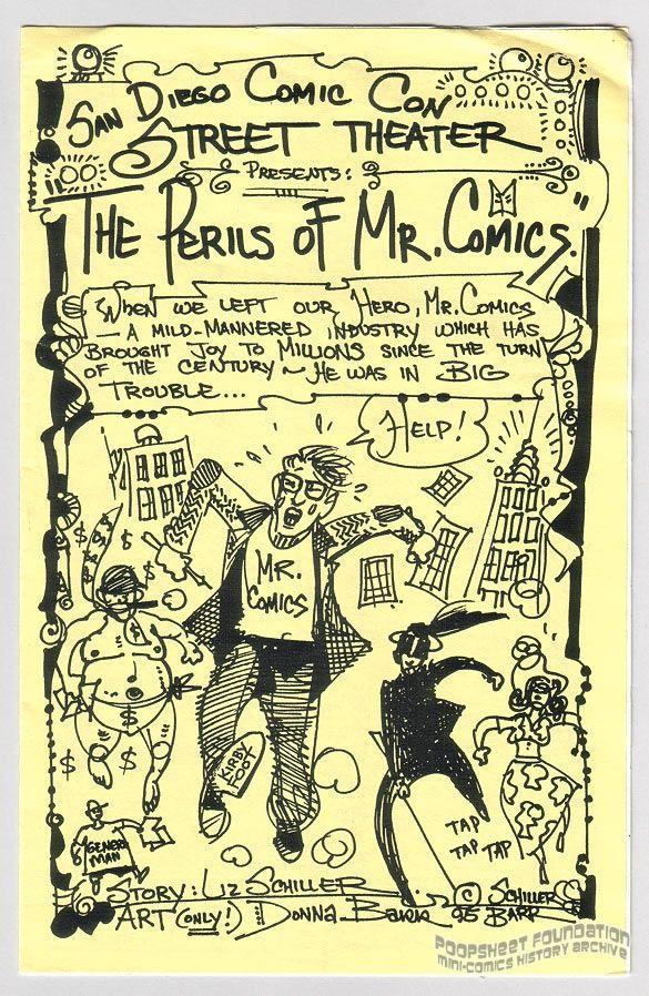 Perils of Mr. Comics, The