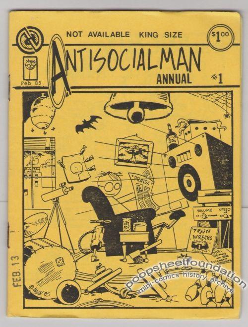 Antisocialman Annual #1