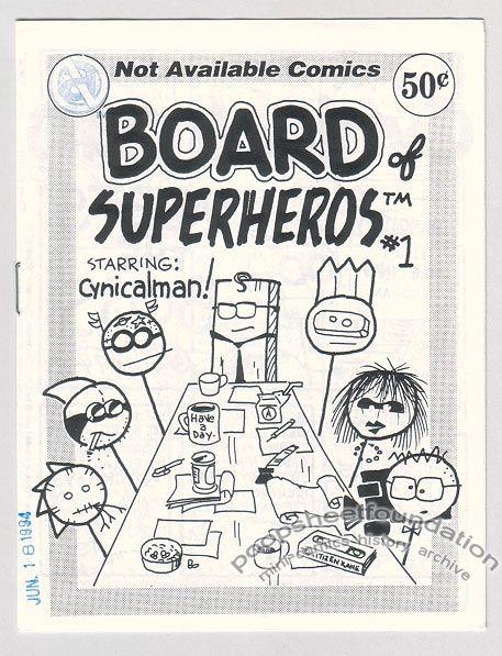 Board of Superheros #1