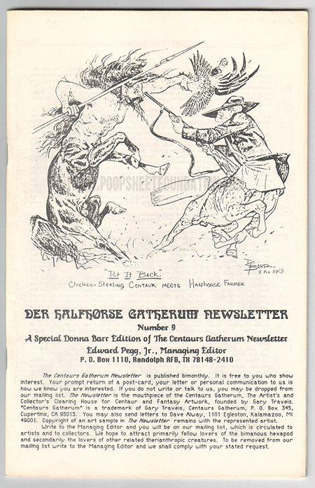 Centaurs Gatherum Newsletter, The #09
