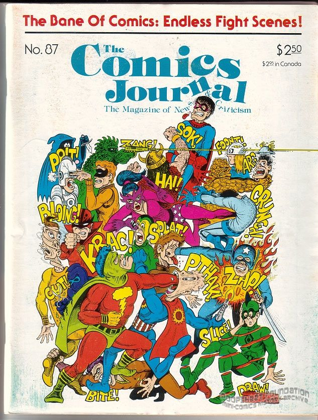 Comics Journal, The #087