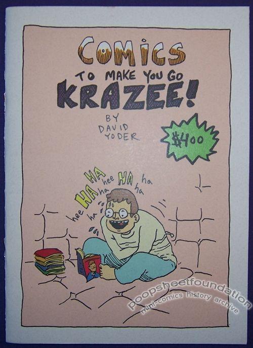Comics to Make You Go Krazee!
