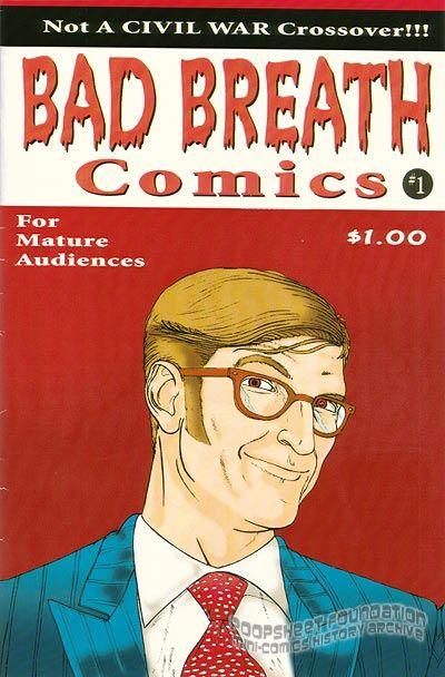 Bad Breath Comics #1