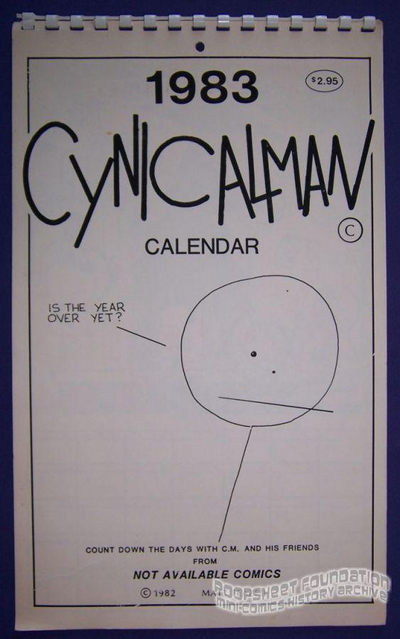 1983 Cynicalman Calendar