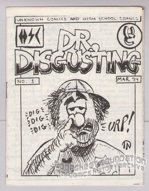 Dr. Disgusting #1 (1st-3rd)