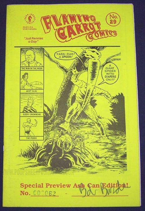Flaming Carrot Comics #29 ashcan