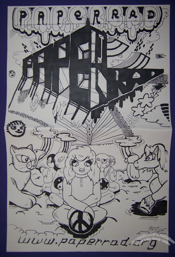 Paper Rad flyer