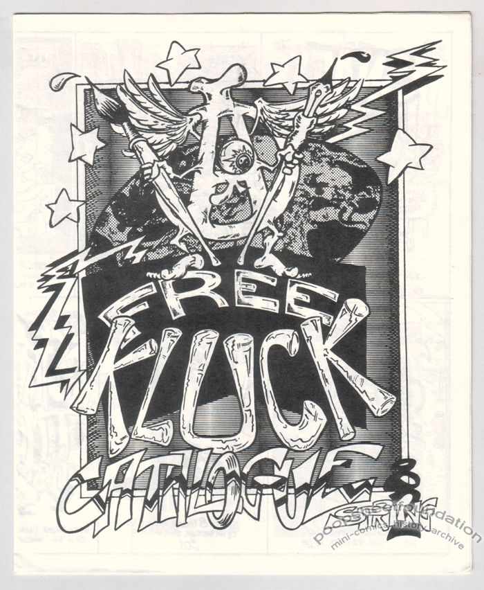 Free Kluck Catalogue Spring 1982