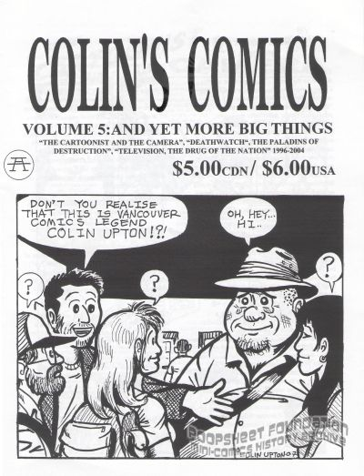 Colin's Comics Vol. 5