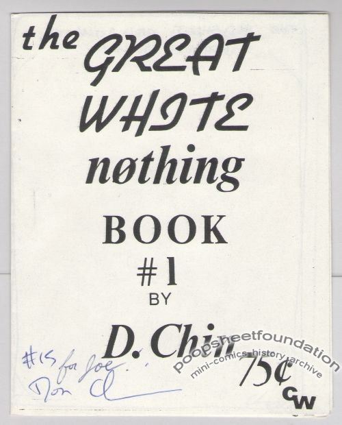 Great White Nothing Book, The #1