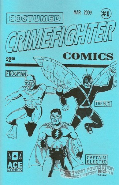 Costumed Crimefighter Comics #1