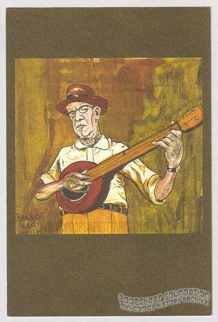 Sammy Harkham postcard (Hobart Smith)