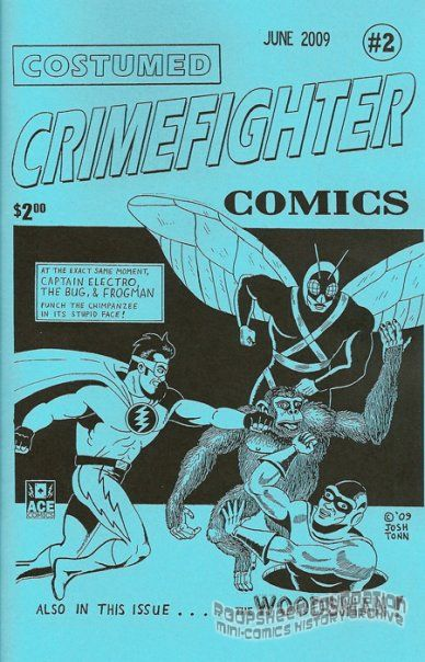 Costumed Crimefighter Comics #2
