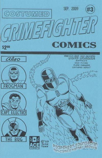 Costumed Crimefighter Comics #3