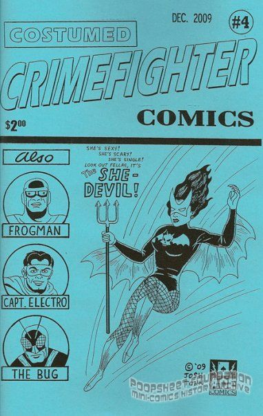 Costumed Crimefighter Comics #4