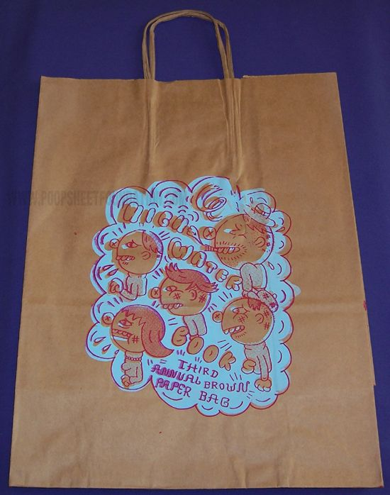 Highwater Books paper bag (third annual)