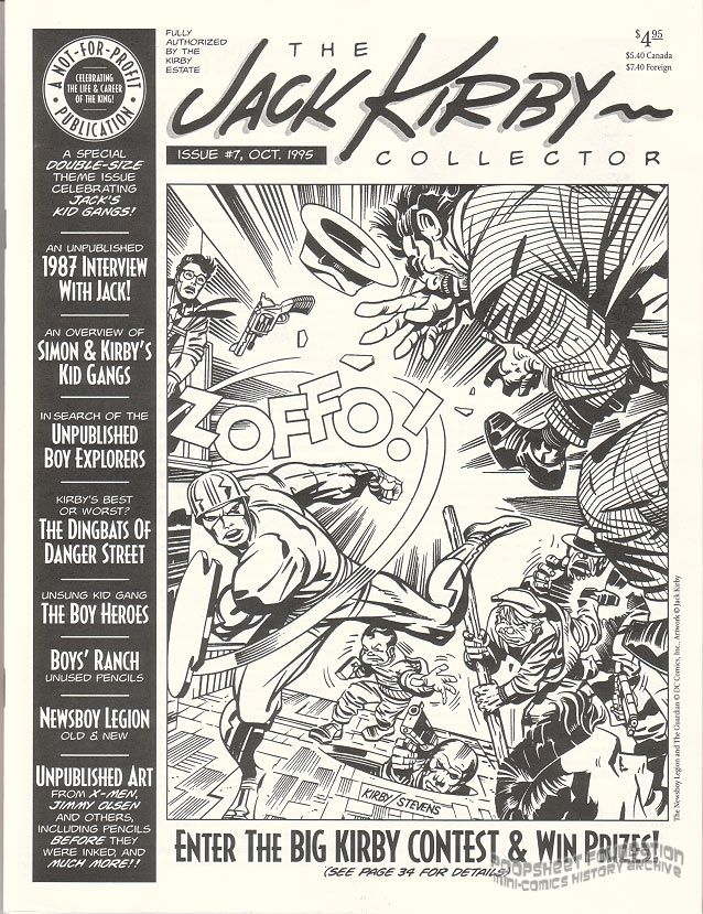 Jack Kirby Collector, The #07