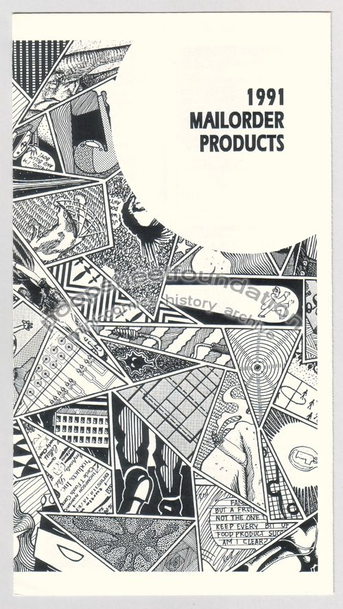 Jim Blanchard 1991 Mailorder Products