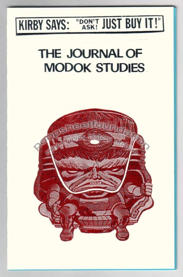 Journal of MODOK Studies, The #1