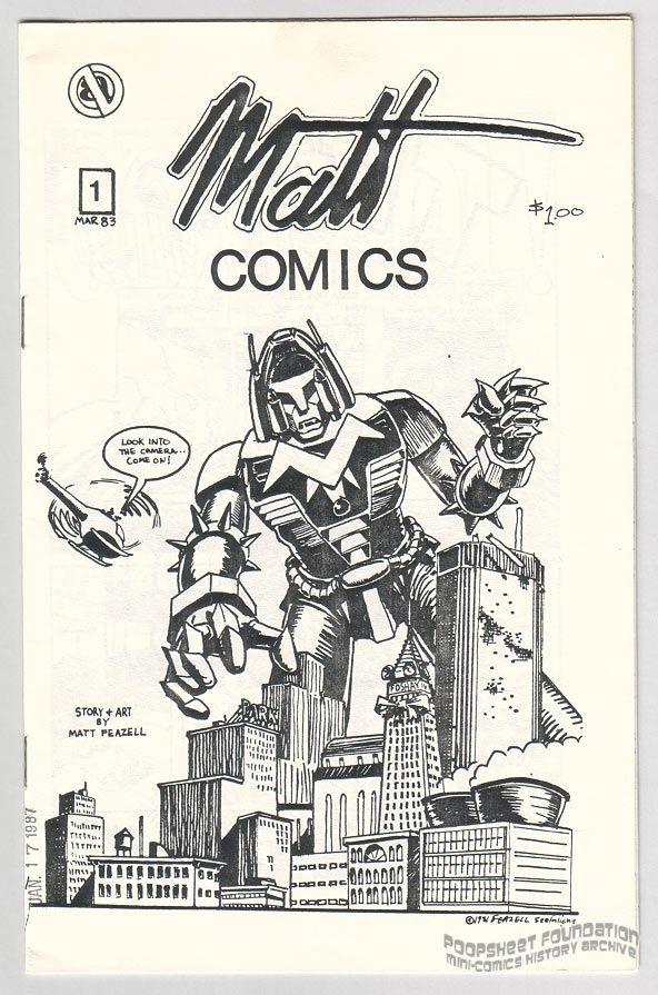 Matt Comics #1