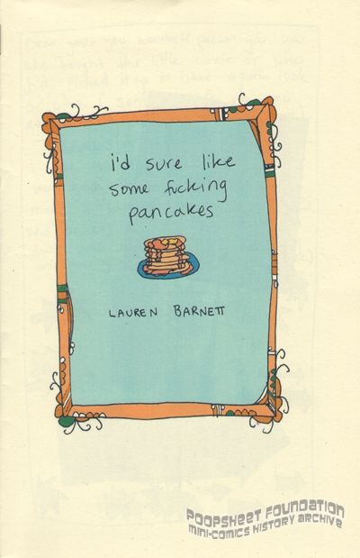 I'd Sure Like Some Fucking Pancakes