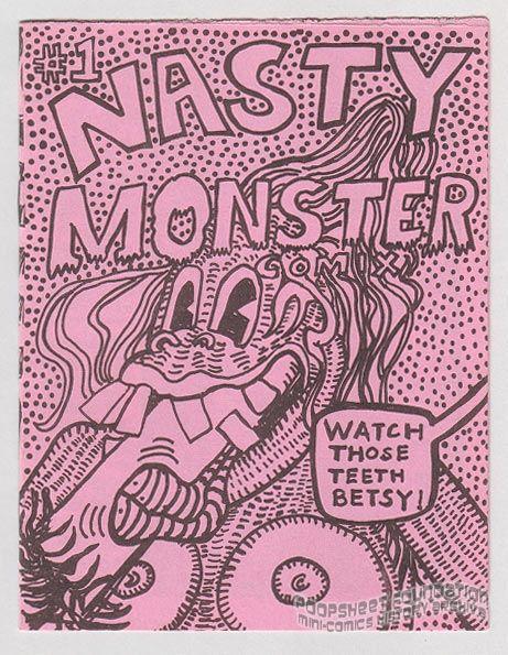 Nasty Monster Comix #1