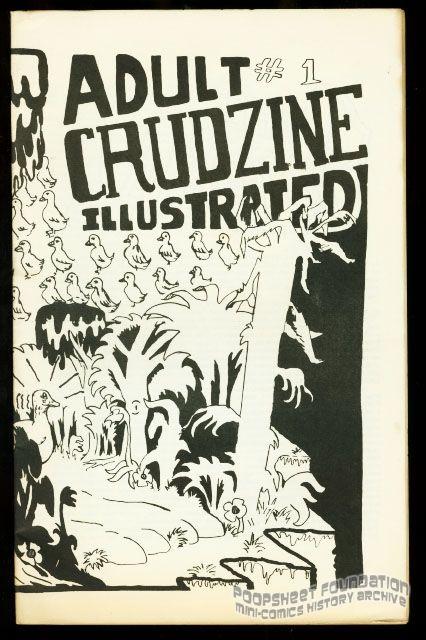Adult Crudzine Illustrated #1