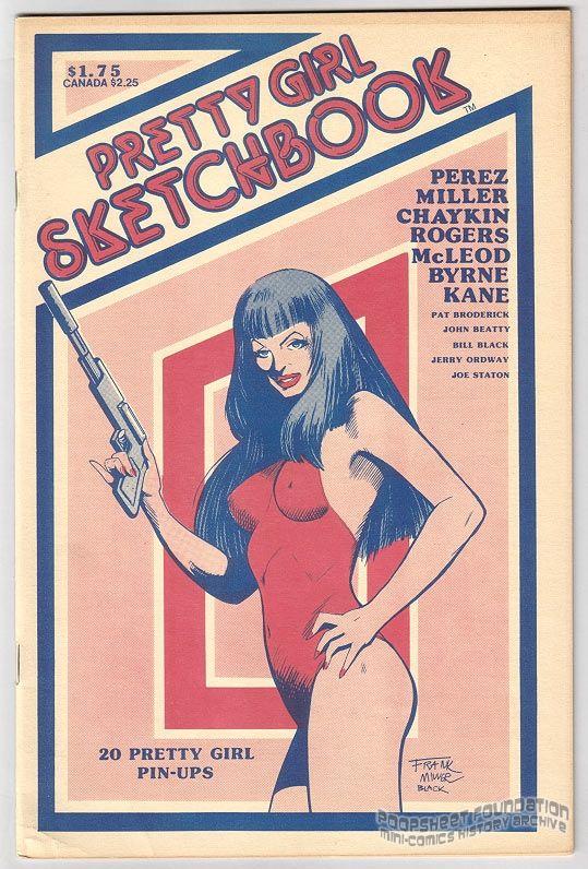 Pretty Girl Sketchbook