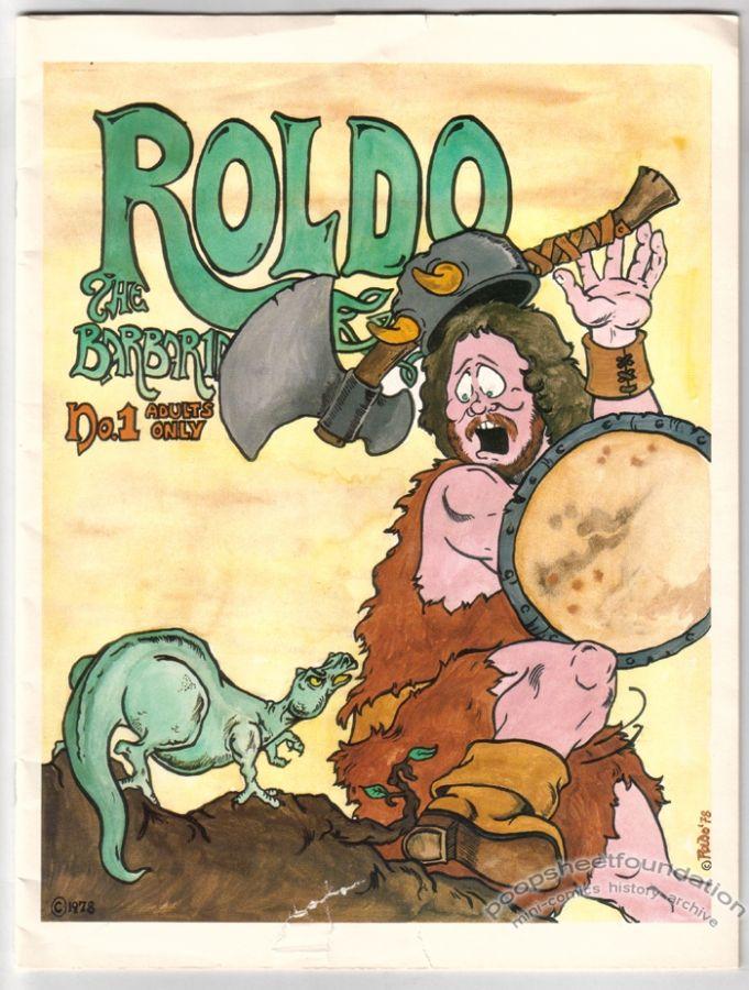 Roldo the Barbarian #1