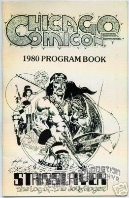 Chicago Comicon 1980 program