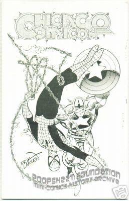 Chicago Comicon 1990 program