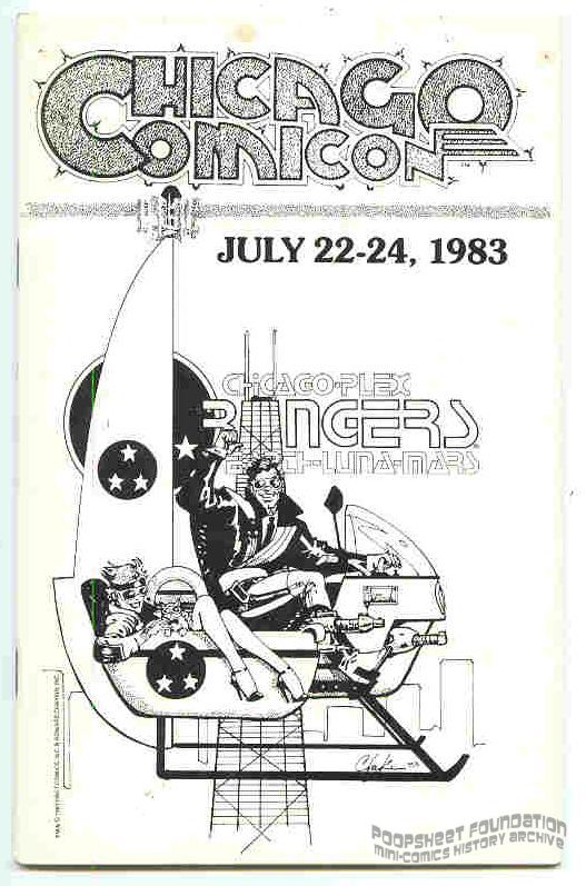 Chicago Comicon 1983 program