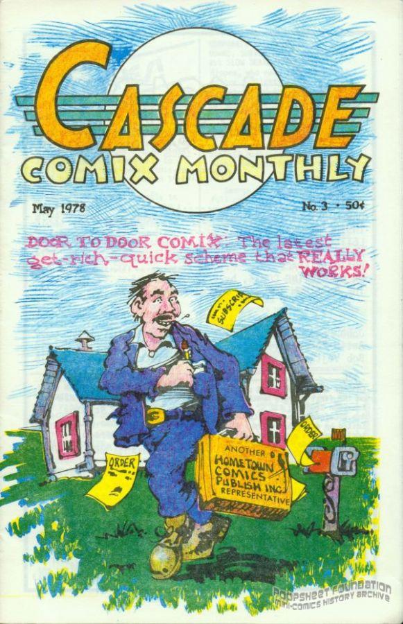 Cascade Comix Monthly #03