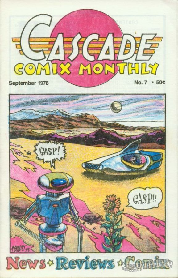 Cascade Comix Monthly #07
