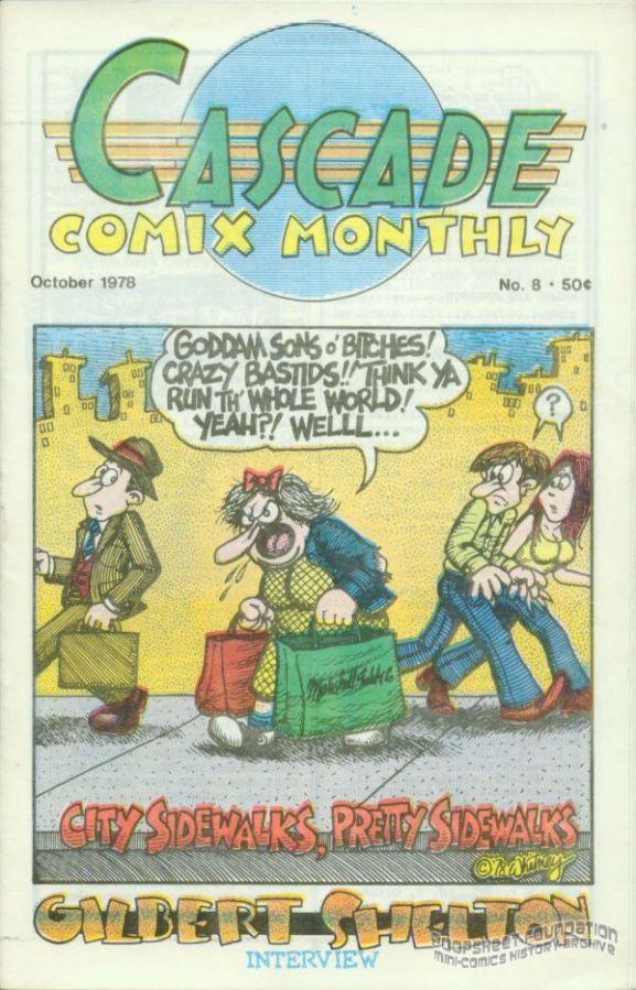 Cascade Comix Monthly #08