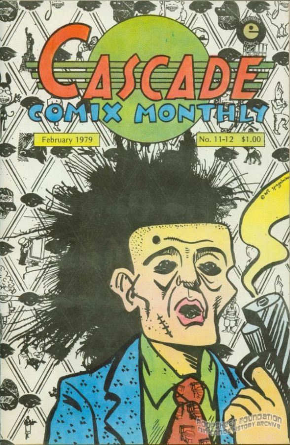 Cascade Comix Monthly #11-12