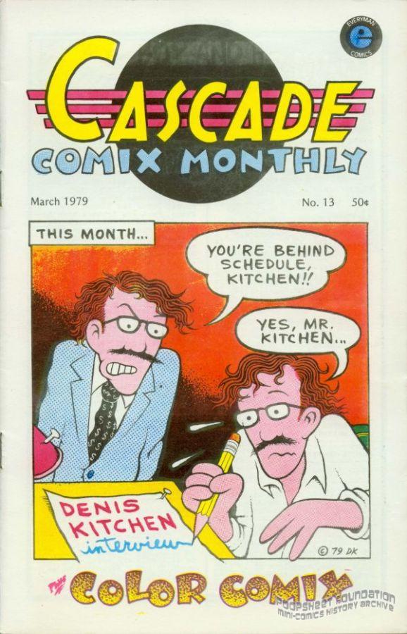 Cascade Comix Monthly #13