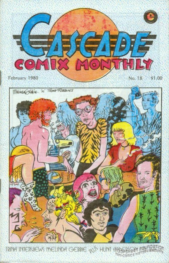 Cascade Comix Monthly #18