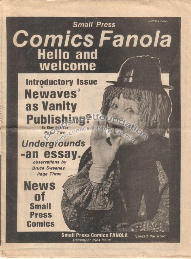 Small Press Comics Fanola #1