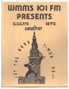 Cleveland Comic Convention 1973 program