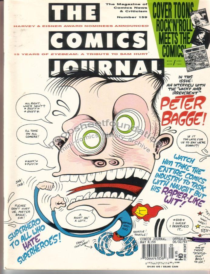 Comics Journal, The #159