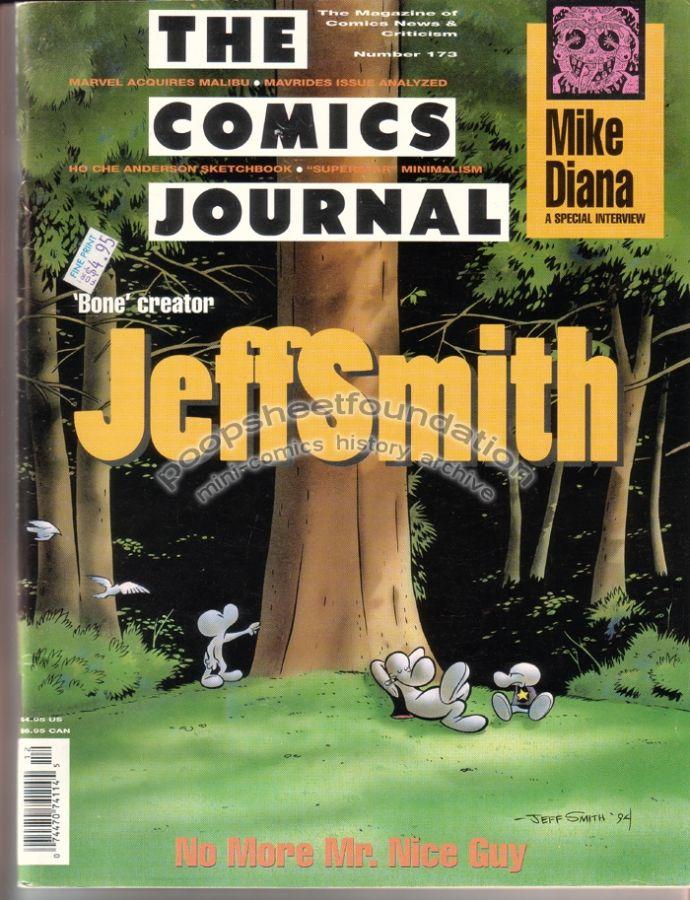 Comics Journal, The #173