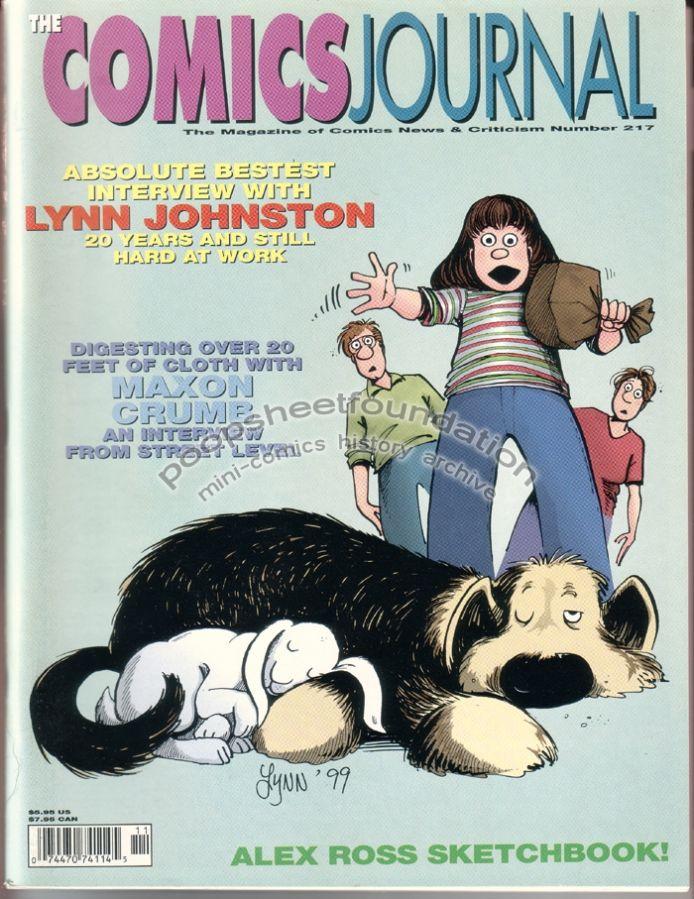Comics Journal, The #217