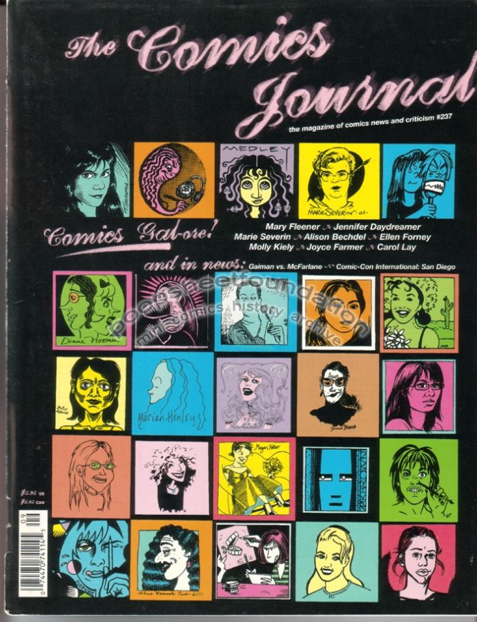 Comics Journal, The #237